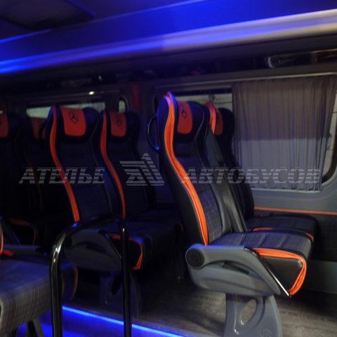Туристический микроавтобус переоборудование микроавтобусов